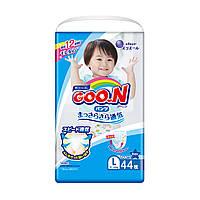 Трусики-подгузники GOO.N для мальчиков 9-14 кг (размер L, 44 шт), фото 1