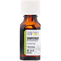 Эфирное масло, грейпфрут (Grapefruit), Aura Cacia, 15 мл