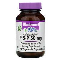 Витамин В6 (пиридоксин), P-5-P, Bluebonnet Nutrition, 90 капс.
