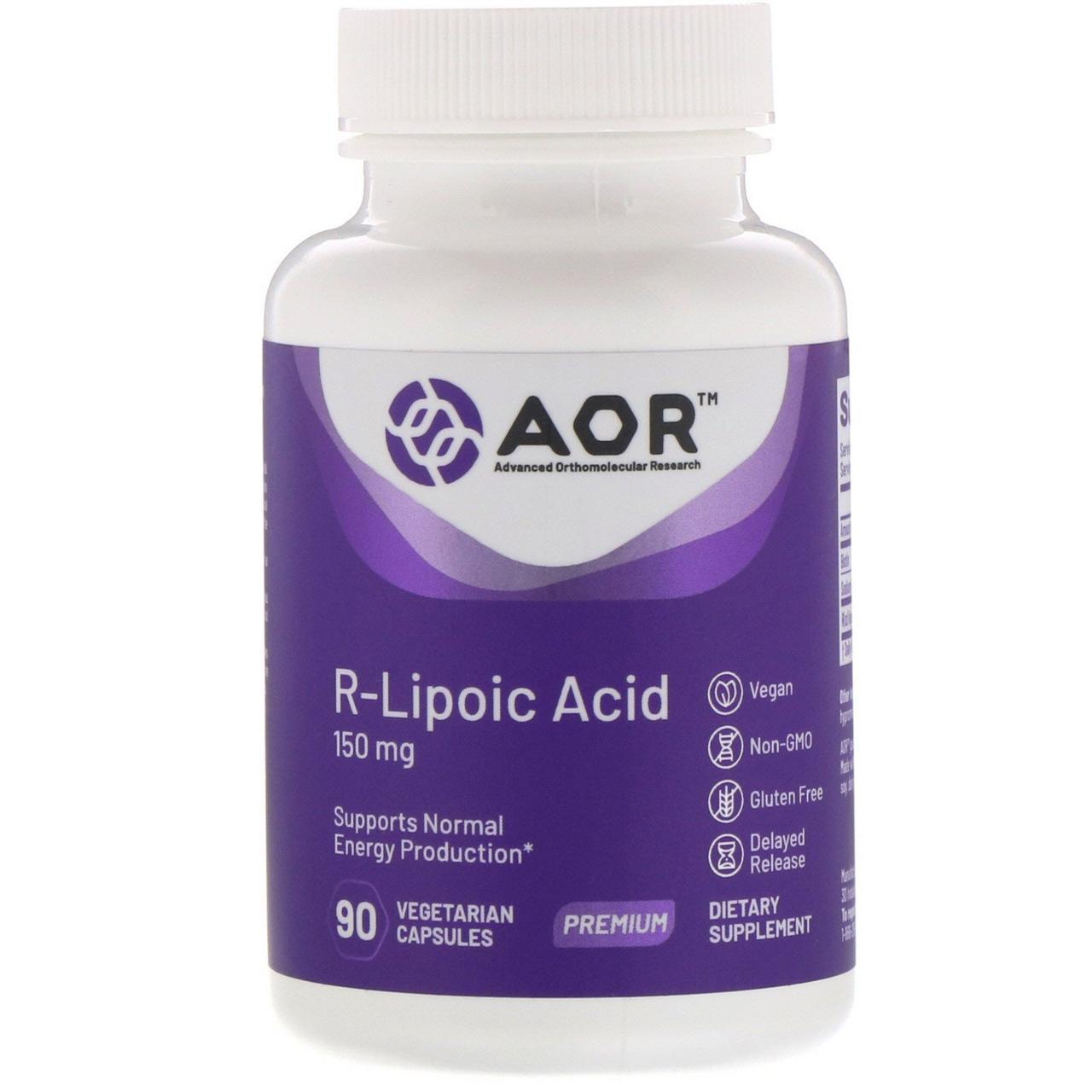 R-ліпоєва кислота, Advanced Orthomolecular Research, 90