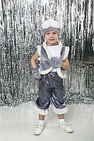 """Детский карнавальный новогодний костюм """"Серый кот"""" (кот), фото 1"""