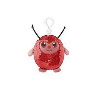 Мягкая игрушка с пайетками SHIMMEEZ – СИМПАТИЧНАЯ БОЖЬЯ КОРОВКА (9 см, на клипсе)