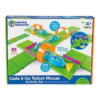 Игровой STEM-набор LEARNING RESOURCES – МЫШКА В ЛАБИРИНТЕ (программируемая игрушка,аксесс.,карточки), фото 1