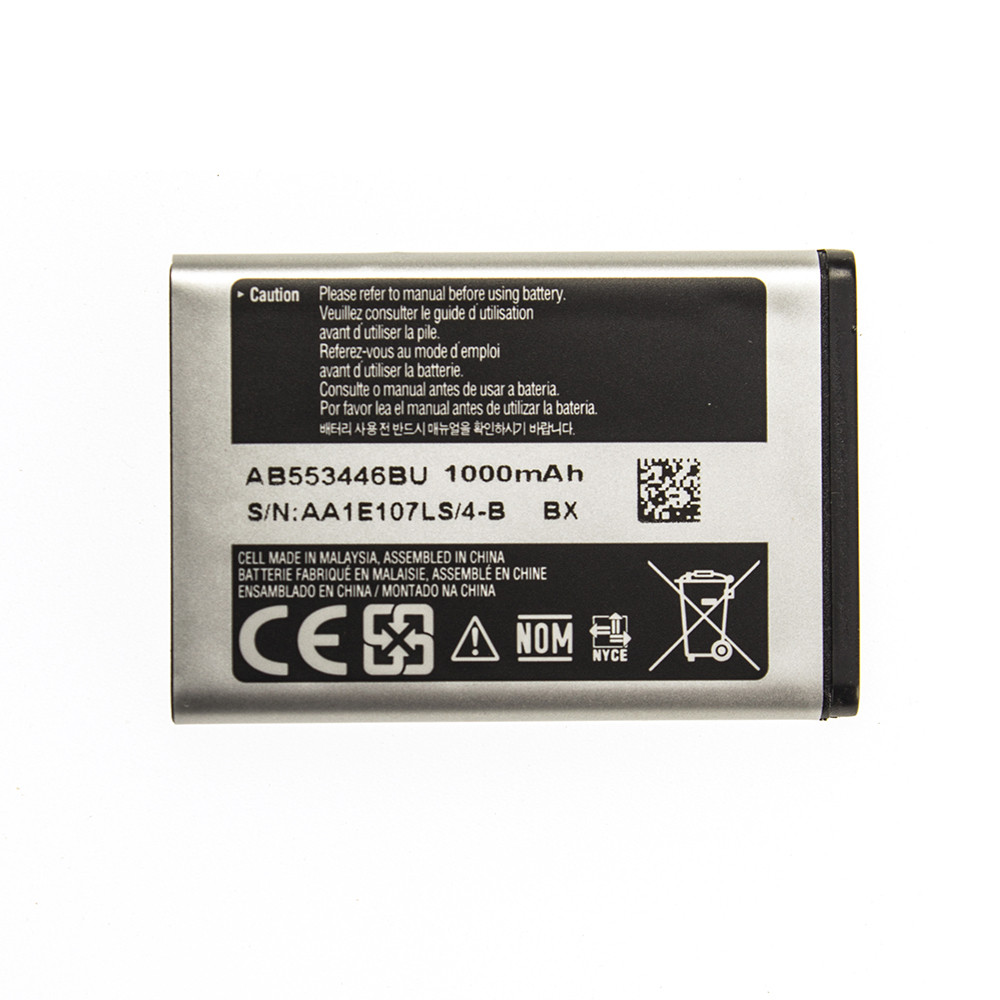 Аккумулятор AB553446BU для Samsung C3212 Duos 1000 mAh (03649-4)
