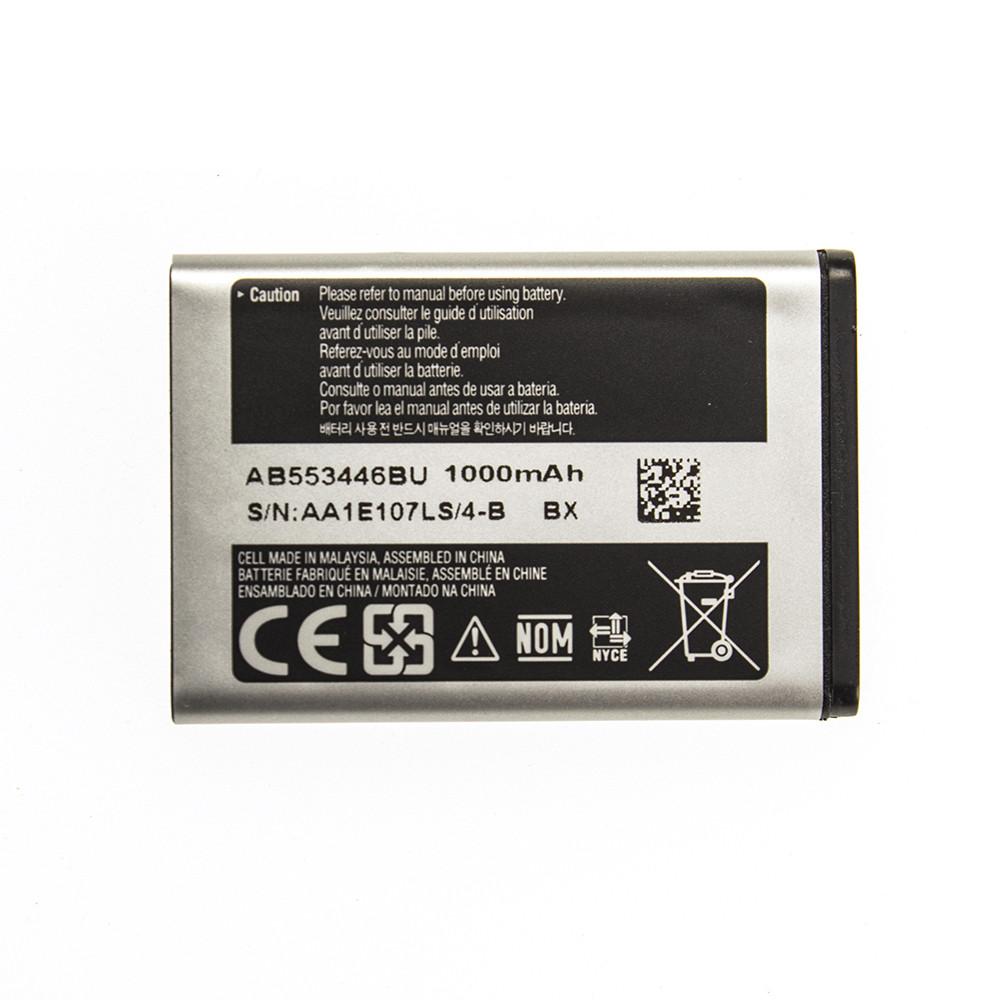 Акумулятор AB553446BU для Samsung E1390 1000 mAh (03649-16)