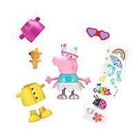 Игровой набор Peppa - МУЗЫКАЛЬНАЯ ПЕППА-МОДНИЦА (звук, одежда, аксессуары, фигурка 13 см), фото 1