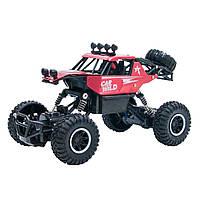 Автомобиль OFF-ROAD CRAWLER на р/у – CAR VS WILD (красный, аккум. 3,6V, метал. корпус, 1:20), фото 1
