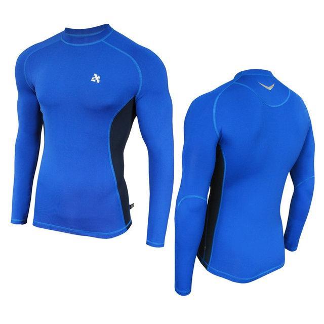 Компресійна спортивна кофта Radical Fury Duo LS Блакитний з синім XXL