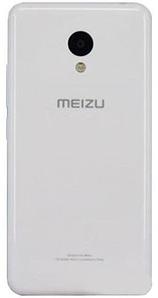 Оригинальная задняя панель (крышка) для Meizu M3 white (Белая)