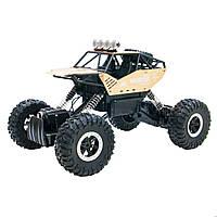 Автомобиль OFF-ROAD CRAWLER на р/у – FORCE (золотой, аккум. 7.2V, метал. корпус, 1:14), фото 1