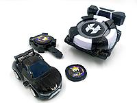 Игрушка Лига Вотчкар (машинка Блад и Кай) + запускалка Watch Car черная