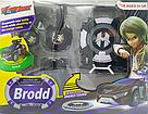 Іграшка Ліга Вотчкар (машинка Блад і Кай) + запускалка WatchCar чорна, фото 2