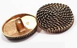 Пуговицы  круглой формы , металические диаметром 25 мм, фото 2