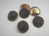 Пуговицы  круглой формы , металические диаметром 25 мм, фото 4