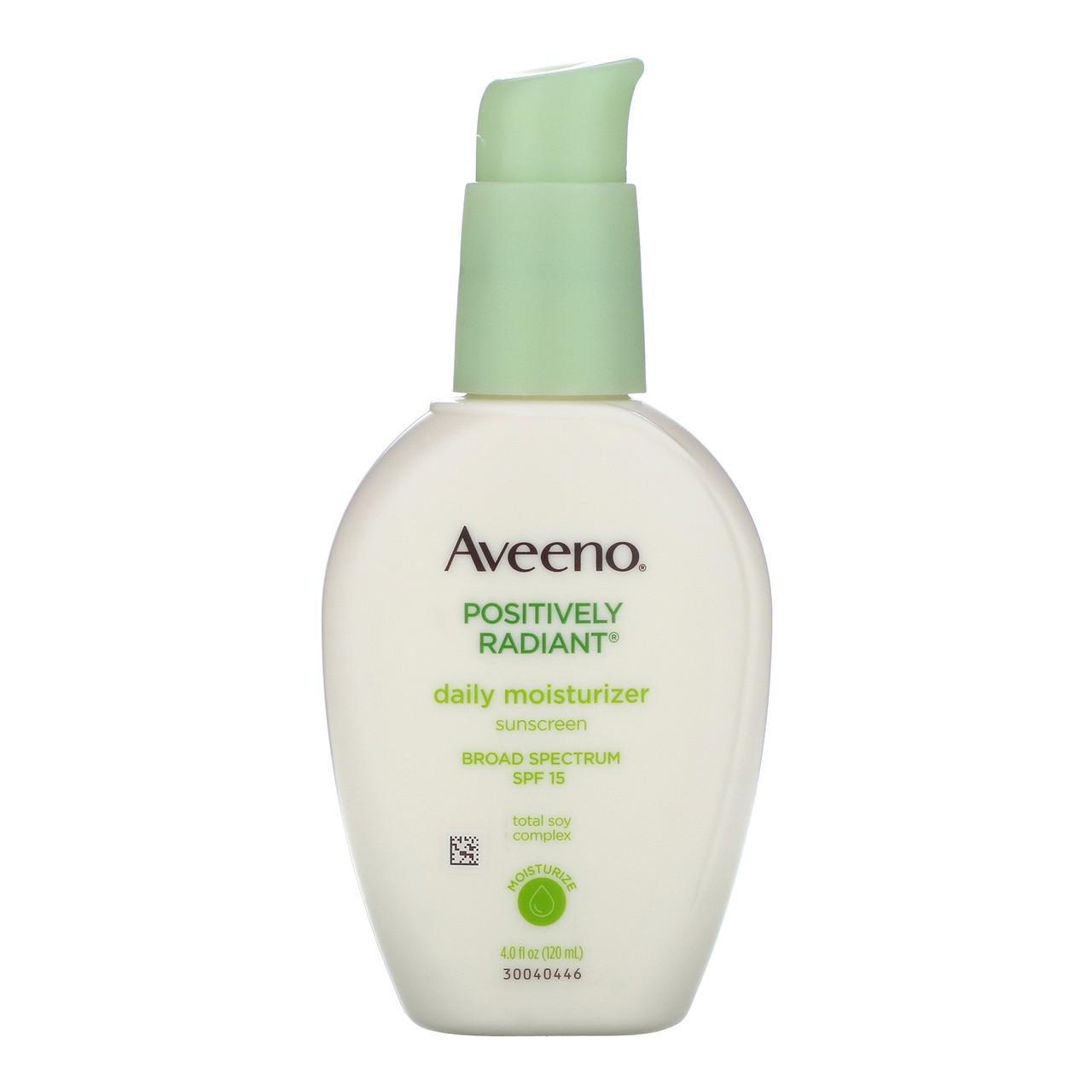 Дневной увлажняющий крем SPF 15 (Sunscreen), Aveeno,120 мл