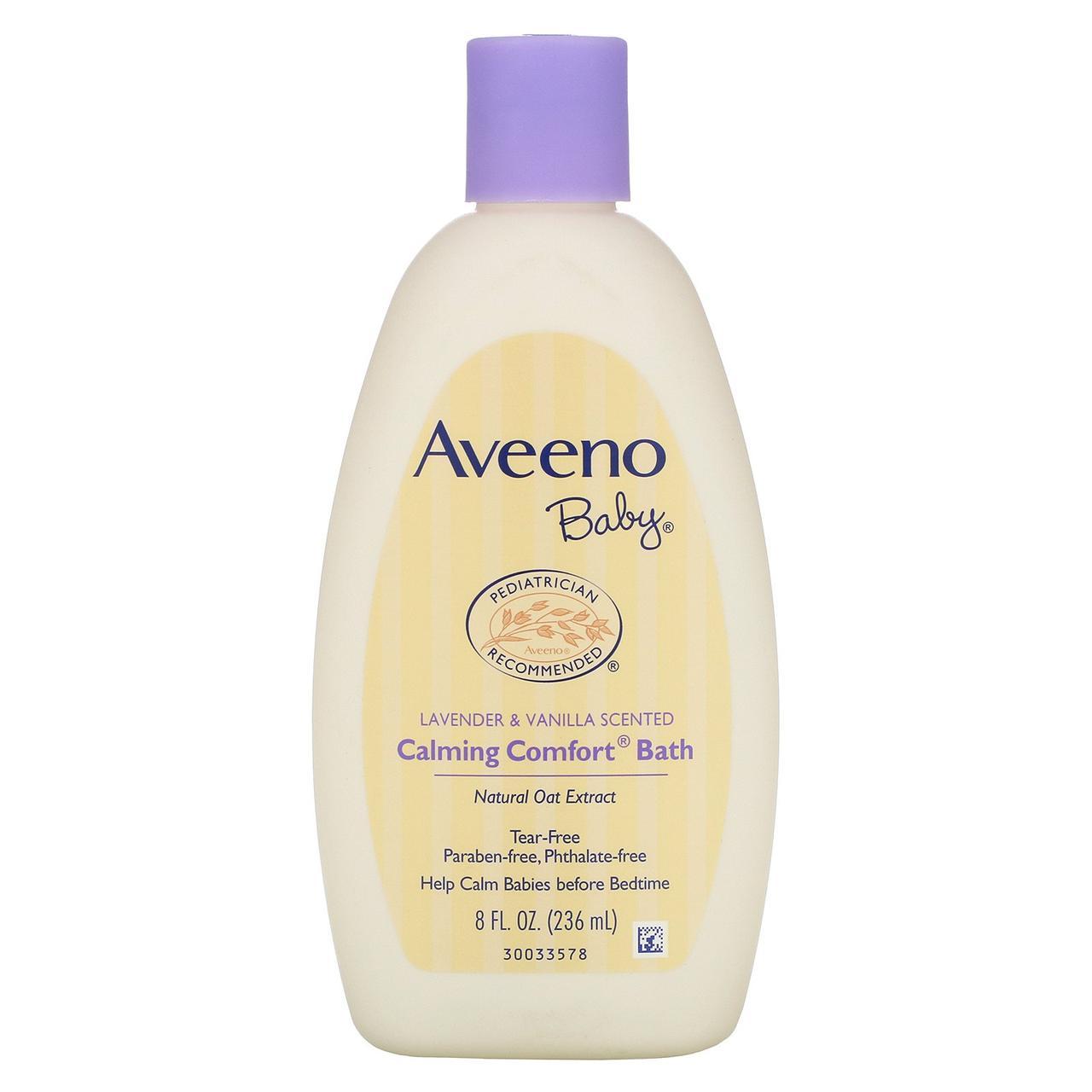 Средство для ванны с лавандой и ванилью, Aveeno,236 мл
