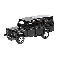 Автомодель - LAND ROVER DEFENDER (черный, 1:32), фото 1