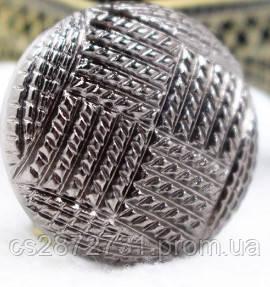 Пуговицы  круглой формы , металические диаметром 25 мм