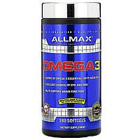 ALLMAX Nutrition, Omega 3, 180 Softgels