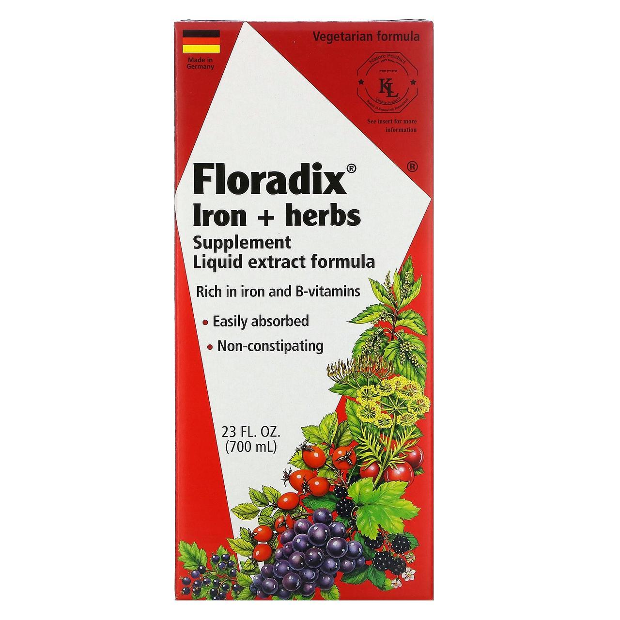 Залізо, Flora, 700 мл