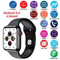 Смарт часы Smart Watch C500, Sim card, голосовой вызов, black