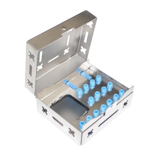 Держатель для буров, коробка для хирургических и имплантологических инструментов (100 х 80 х 48), SIB-1010