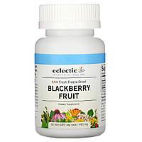 Ежевика, Blackberry Fruit, Eclectic Institute, 480 мг, 90 кап.