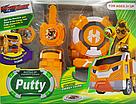 Іграшка Ліга Вотчкар (машинка Поті і Мару) + запускалка WatchCar жовтий, фото 2