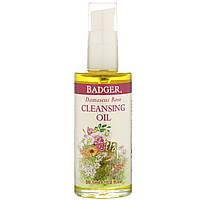 Очищающее масло с дамасской розой, Badger Company, 59,1 мл, фото 1