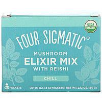 Four Sigmatic, Напиток из грибов рейши и травами, 20 пакетиков, 0,1 унции (3 г) каждый