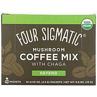 Four Sigma Foods, Cordyceps Mushroom Coffee, 10 ct, 0.09 oz Each