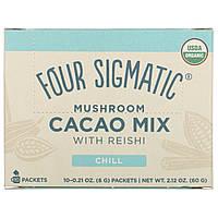 Какао-напиток с Рейши и корицей, XOCO Blue, Four Sigma Foods, 10 пакетов по 6 г