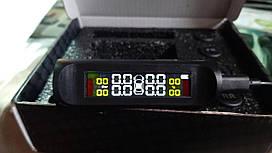 TPMS система контролю тиску і температури в шинах, зовнішні датчики, кольоровий дисплей