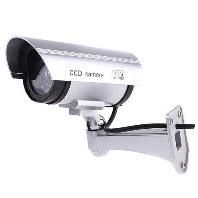 Муляж камери відеоспостереження Dummy Ir Camera Alfa Сіра (A648188143)