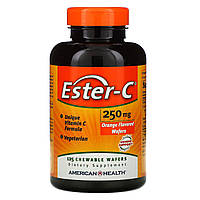 Эстер С, Ester-C, American Health, 250 мг, 125 конфет
