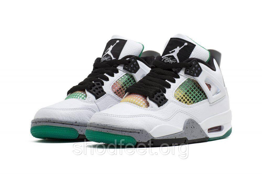 Чоловічі баскетбольні кросівки Air Jordan Retro 4 Oreo