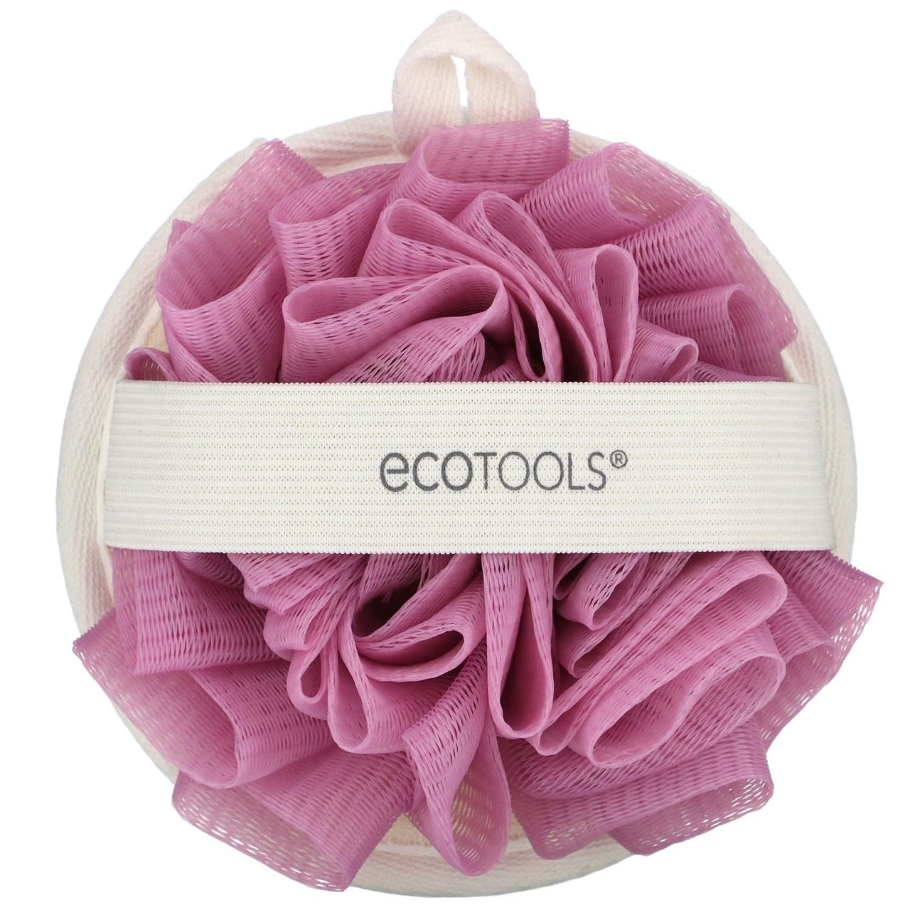Мочалка для душа (двухсторонняя), EcoTools, 1 шт.