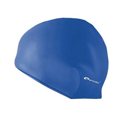Шапочка для плавания Spokey Summer Cap для взрослых Onesize Синяя (s0118)