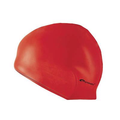 Шапочка для плавания Spokey Summer Cap для взрослых Onesize Красная (s0116)