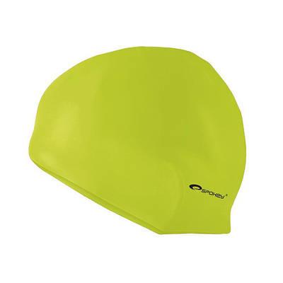 Шапочка для плавания Spokey Summer Cap для взрослых Onesize Салатовая (s0115)