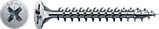 Саморез SPAX с покр. WIROX 3,5х25, полная резьба, потай, PZ2, 4CUT, упак. 1000 шт., пр-во Германия, фото 3