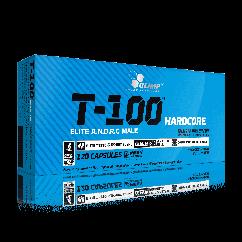 Бустер тестостерона Olimp T-100 Hardcore (120 капс)  олимп