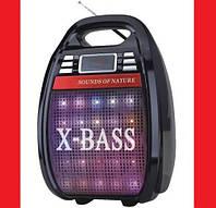 Колонка-чемодан Golon RX-810BT со светомузыкой, с микрофоном +bluetooth. Гарантия 12 м