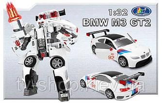 Робот-трансформер Roadbot BMW M3 GT2 ( 1:32)