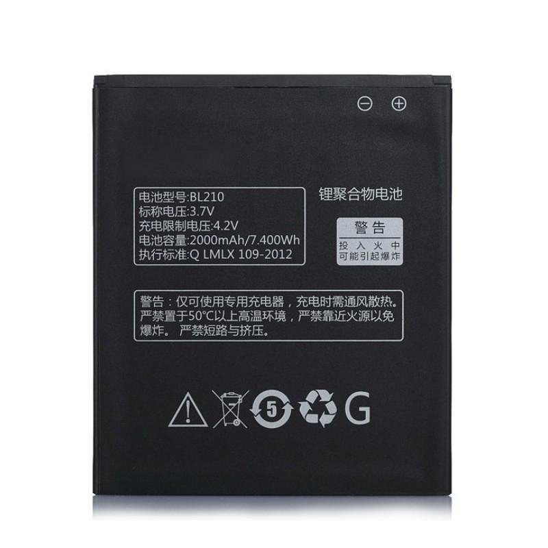 Акумулятор BL210 для Lenovo A536/S820/A606/A656/S650/S820E/A766/A828T 2000 mAh (00886)