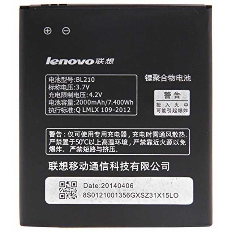 Аккумулятор BL210 для Lenovo A770E 2000 mAh (MB_723330100)