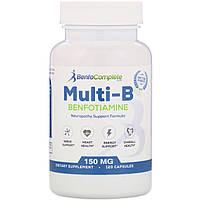 Benfotiamine Inc., Нейропатическая поддерживающая формула Multi-B, 150 мг, 120 капсул