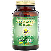 Хлорелла (Chlorella Manna), HealthForce Nutritionals, 500 таблеток