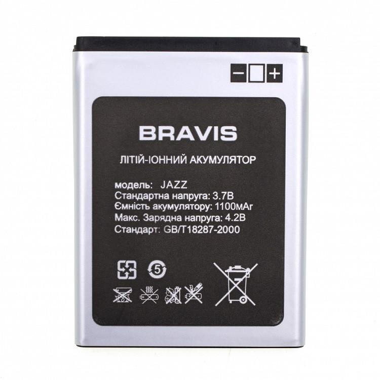 Аккумулятор Bravis Jazz 1100 mAh (03174)