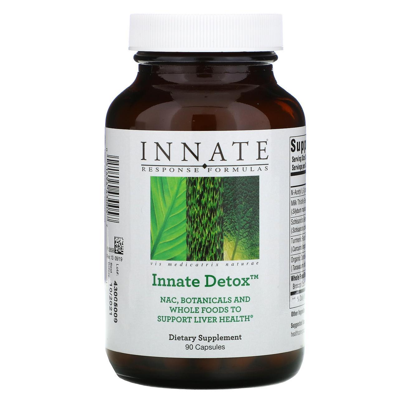 Innate Response Formulas, Innate Detox, 90 капсул